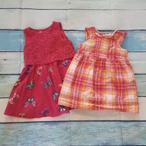2x$20 -2 toddler dress size 3t excellent comdition